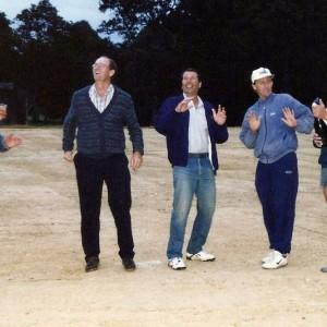 From L to R: John Leeson, Bill Nicholls, Eric Moser, John Parsons, Dave Runciman