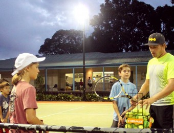 Junior group coaching
